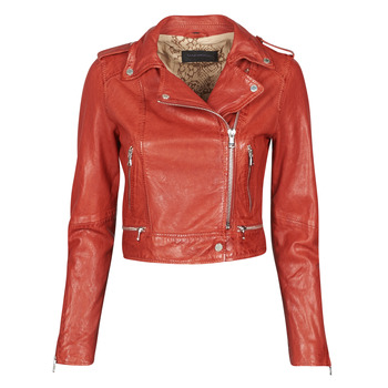 Clothing Women Leather jackets / Imitation leather Oakwood KYOTO Red