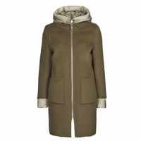 Clothing Women Coats Oakwood LILIANA BI Kaki / Beige / Taupe