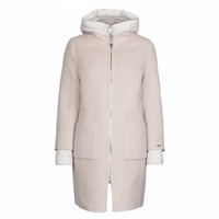 Clothing Women Coats Oakwood LILIANA BI Ivory / Grey