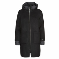 Clothing Women Coats Oakwood LILIANA BI Grey / Black