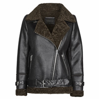 Clothing Women Jackets Oakwood COMMUNITY Black / Brown