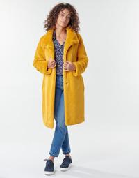 Clothing Women Coats S.Oliver 05-009-52 Yellow