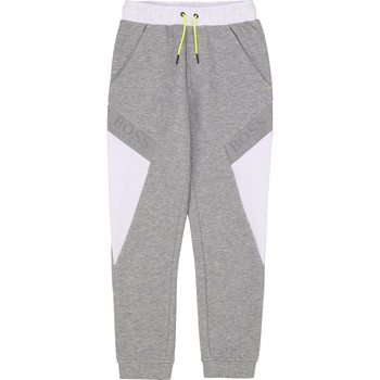 Clothing Boy Tracksuit bottoms BOSS J24664 Grey