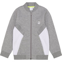 Clothing Boy Sweaters BOSS J25G80 Grey