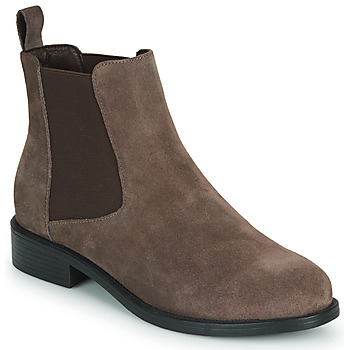 Shoes Women Mid boots Spot on F50979 Brown