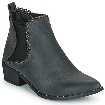 Shoes Women Ankle boots Spot on F50939 Black