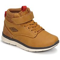 Shoes Boy Hi top trainers Umbro JAGGY VLC Brown