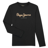 Clothing Boy Long sleeved tee-shirts Pepe jeans NEW HERMANN Marine