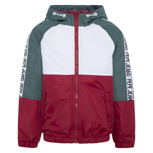 Clothing Boy Jackets Pepe jeans FERN Multicolour