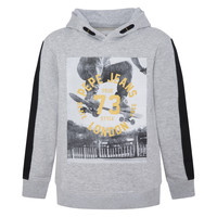 Clothing Boy Sweaters Pepe jeans GEOFF Grey