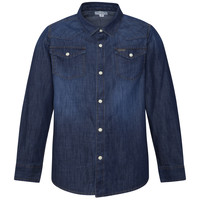 Clothing Boy Long-sleeved shirts Pepe jeans JHON Blue