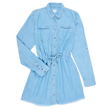 Clothing Girl Short Dresses Pepe jeans ZOEY Blue