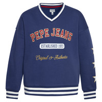 Clothing Girl Sweaters Pepe jeans BABY Blue