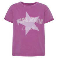 Clothing Girl Short-sleeved t-shirts Pepe jeans RACHEL Pink