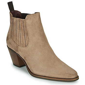 Shoes Women Ankle boots Muratti RESEDA Taupe
