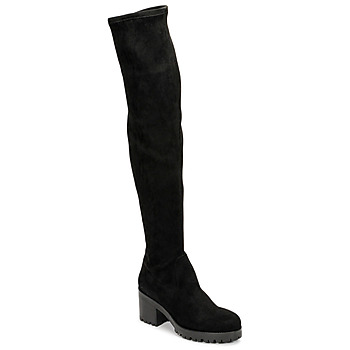 Shoes Women Thigh boots Sweet Lemon POLYCA Black
