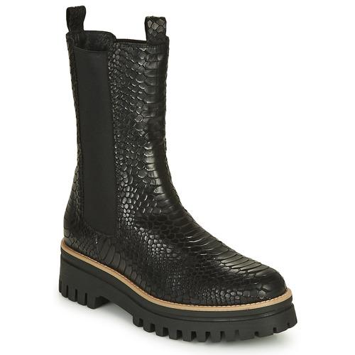 Shoes Women Mid boots Sweet Lemon POLIRA Black