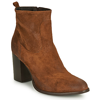 Shoes Women Ankle boots Sweet Lemon IDIA Cognac