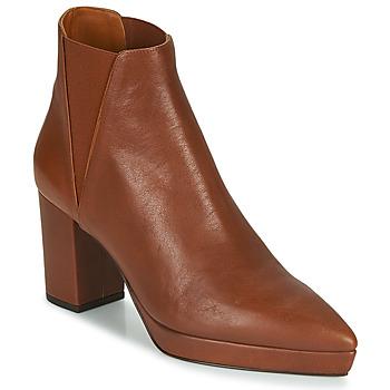 Shoes Women Ankle boots Castaner OSCA Cognac