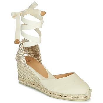 Shoes Women Sandals Castaner CARINA Ivory