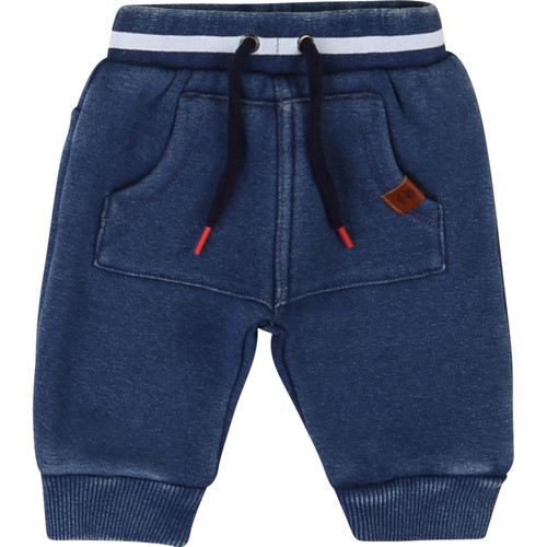 Clothing Boy 5-pocket trousers Timberland T94736 Blue