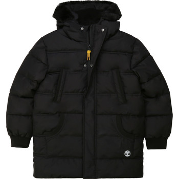 Clothing Boy Duffel coats Timberland T26518 Black