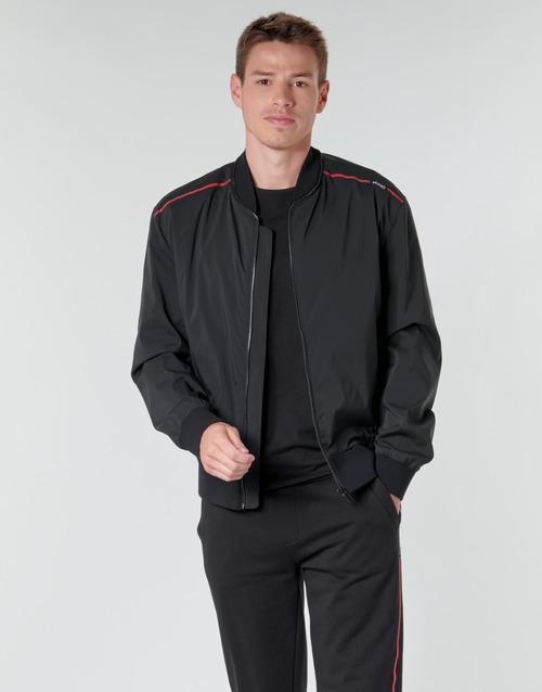 Clothing Men Jackets HUGO BRUCE2031 Black
