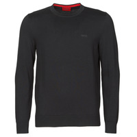 Clothing Men Jumpers HUGO SAN CASSIUS Black
