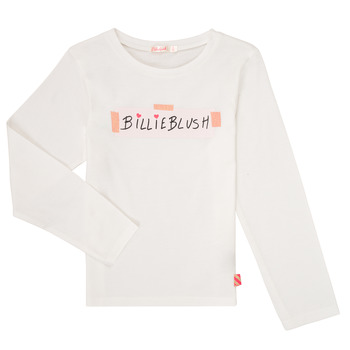 Clothing Girl Long sleeved tee-shirts Billieblush / Billybandit U15803 White