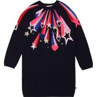 Clothing Girl Short Dresses Billieblush / Billybandit U12583 Blue