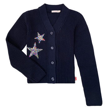 Clothing Girl Jackets / Cardigans Billieblush / Billybandit U15758 Blue
