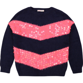 Clothing Girl Jumpers Billieblush / Billybandit U15770 Blue