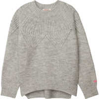 Clothing Girl Jumpers Billieblush / Billybandit U15775 Grey