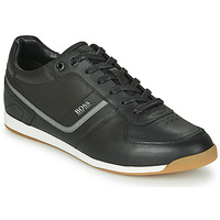 Shoes Men Low top trainers BOSS GLAZE LOWP NAHB Black