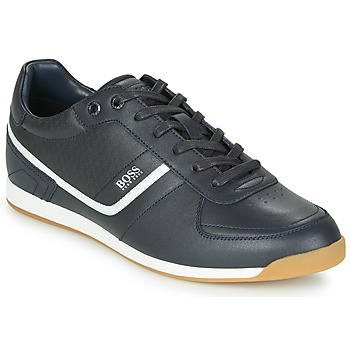 Shoes Men Low top trainers BOSS GLAZE LOWP NAHB Marine