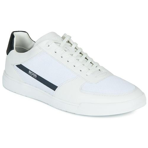 Shoes Men Low top trainers BOSS COSMOPOOL TENN MXME White