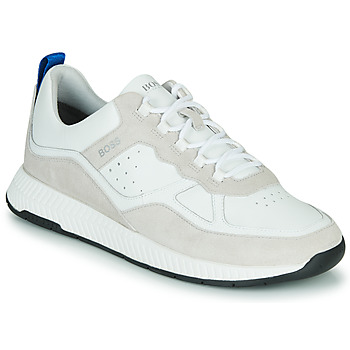 Shoes Men Low top trainers BOSS TITANIM RUNN LTMX White