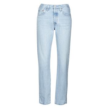 Clothing Women Boyfriend jeans Levi's 501 CROP Luxor / Ra