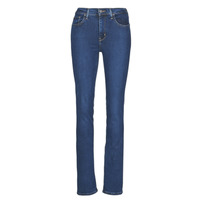 Clothing Women Straight jeans Levi's 724 HIGH RISE STRAIGHT Bogota / Calm