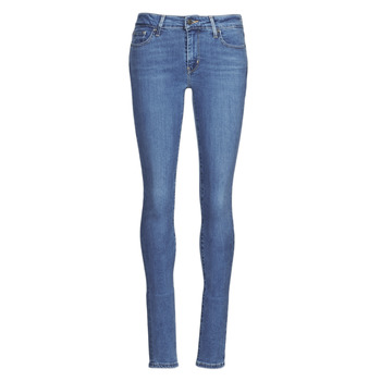 Clothing Women Skinny jeans Levi's 711 SKINNY Bogota / Way