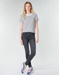 Clothing Women Skinny jeans Levi's 720 HIGH RISE SUPER SKINNY Smoked / Out