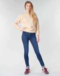 Clothing Women Skinny jeans Levi's 721 HIGH RISE SKINNY Bogota / Feels