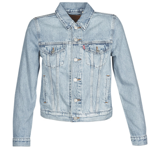 Clothing Women Denim jackets Levi's ORIGINAL TRUCKER All / Mine