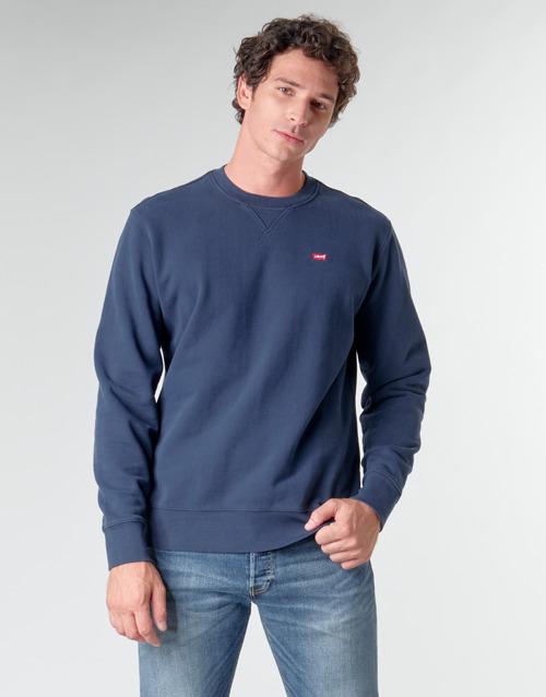 Clothing Men Sweaters Levi's NEW ORIGINAL CREW Blues