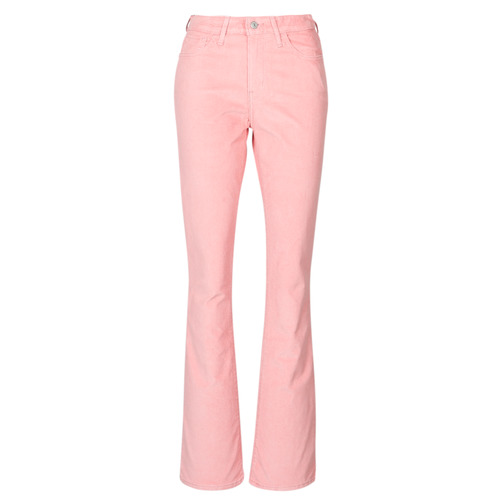 Clothing Women Bootcut jeans Levi's 725 HIGH RISE BOOTCUT Blush / Luxe / Cord