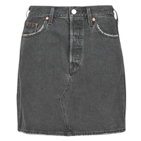 Clothing Women Skirts Levi's HR DECON ICONIC BF SKIRT Black