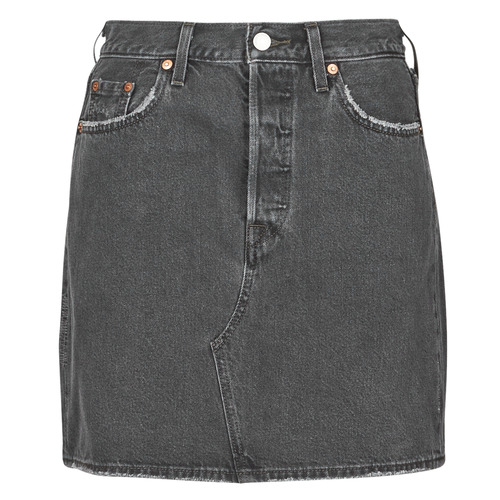 Clothing Women Skirts Levi's HR DECON ICONIC BF SKIRT Black
