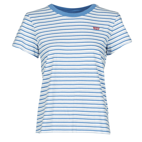 Clothing Women Short-sleeved t-shirts Levi's PERFECT TEE Blue