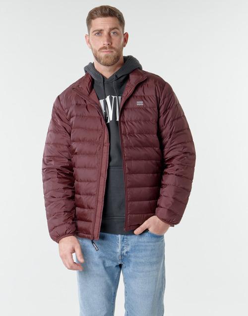 Clothing Men Duffel coats Levi's PRESIDIO PACKABLE JACKET Sassafras