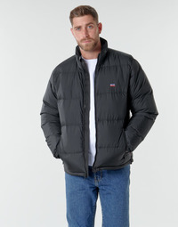Clothing Men Duffel coats Levi's FILLMORE SHORT JACKET Jet /  black
